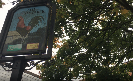 Image of a pub sign