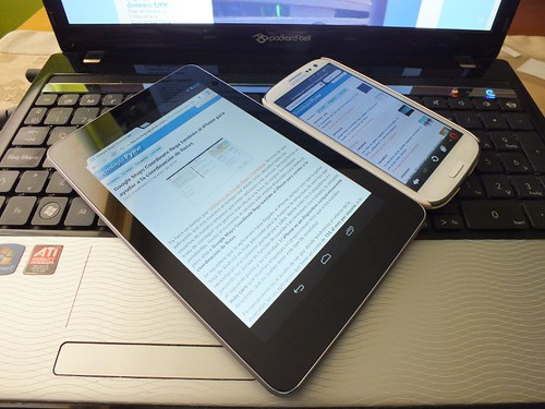 Image of a laptop, tablet and smartphone